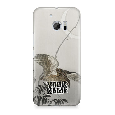 Hawk Owl Birds Legendary Moon Japanese Art Phone Cases Cover