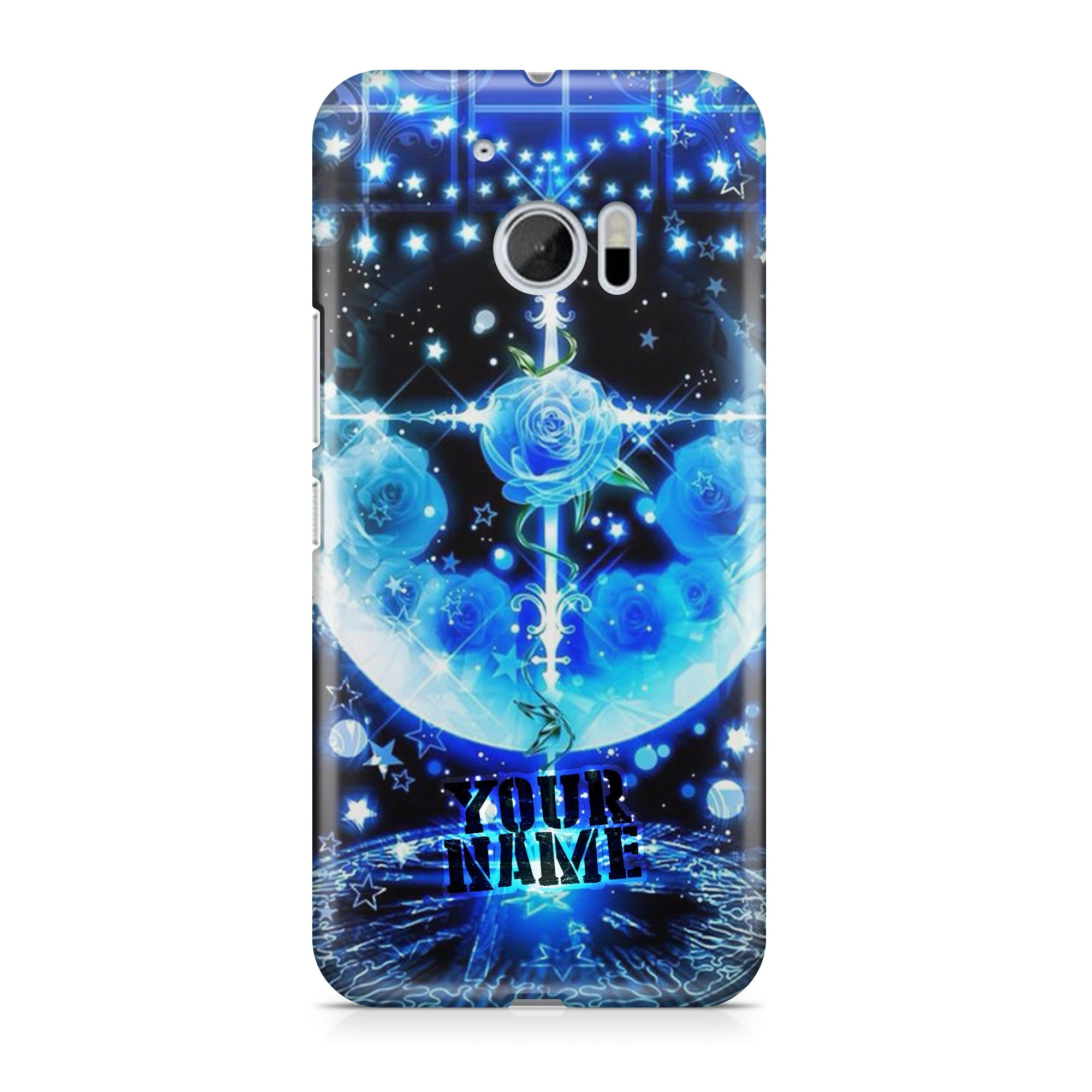 Blue Star Moon Beautiful Light Divine Space Galaxy Stary Universe Phone Cases Cover