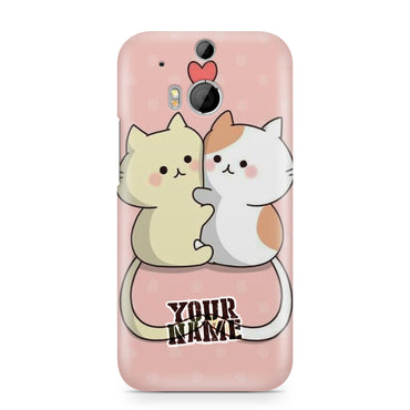 Love Kitten Cats Twin TwistNeko Lovely Kawaii Art Phone Cases Cover