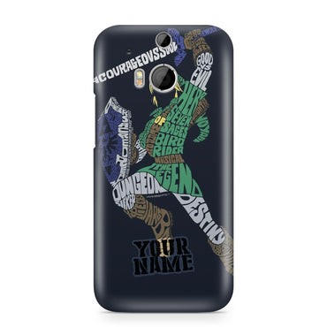 Zelda Link Green Custom Printed Hard Back Phone Case
