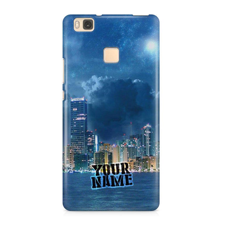 New York City Skyscrapers Town American Cloud Moon Phone Cases Cover