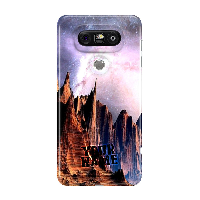 Extraordinary Milky Way Spiral Galaxy Star System Red Rock Canyon Mountains Case