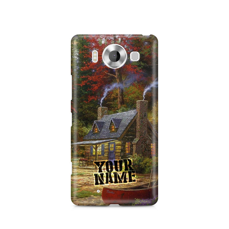 Sweden Norway Denmark Finland Beautiful House Farm Village Art Phone Cases Cover