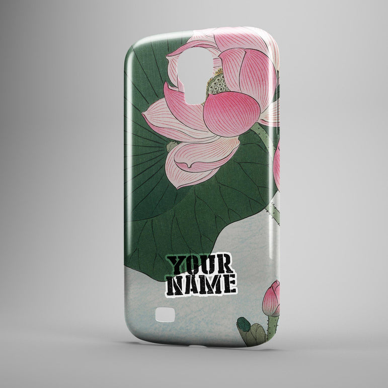 Pink Rose Floral Flower Paint Japanese Art Beautiful Phone Cases Cover