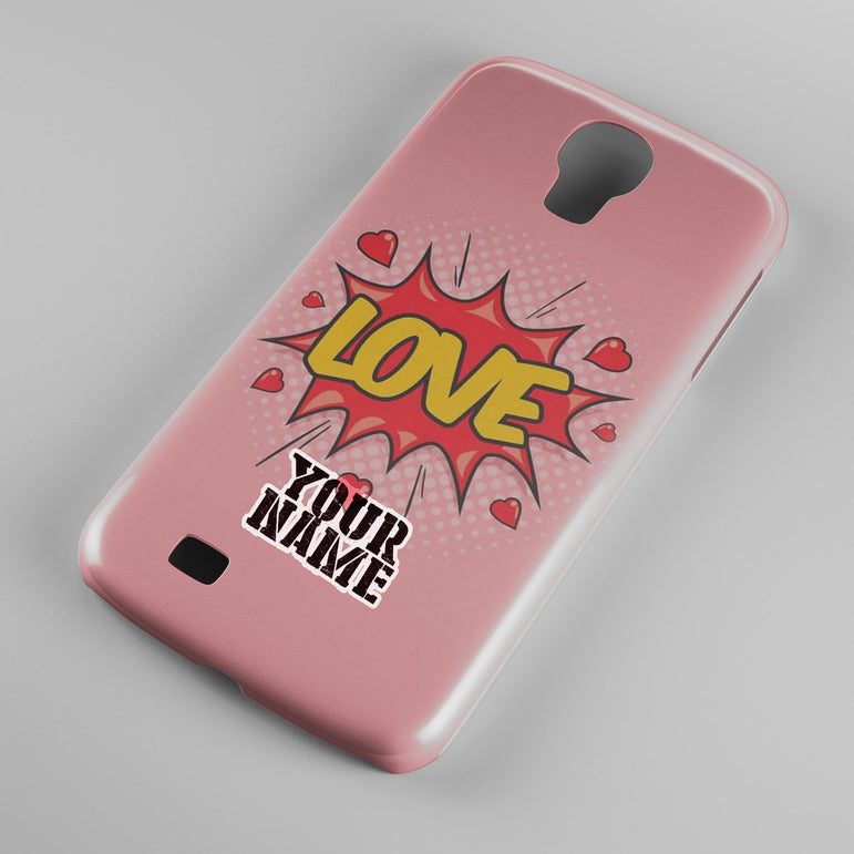 Comic Pop Love Bang Lovely Pink Phone Cases Cover