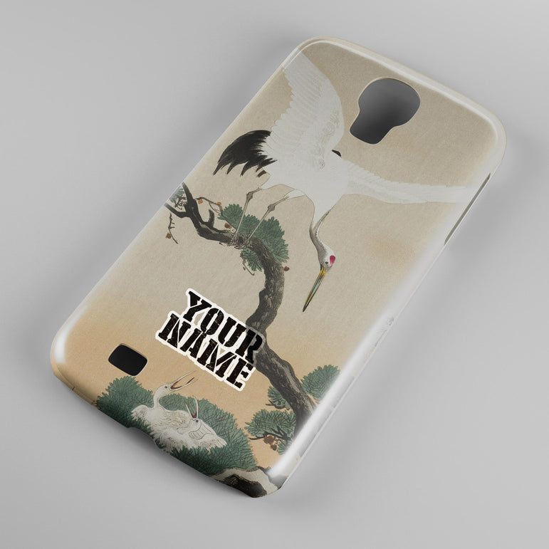 White Flying Eagle Japanese Art Phone Cases Cover