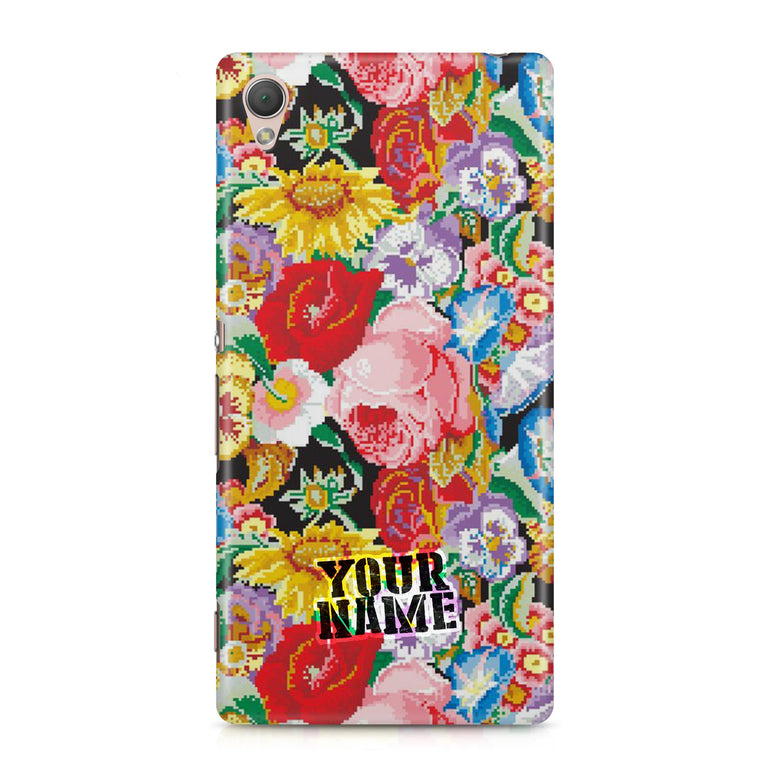 Texture Pattern Flower Beautiful Floral Colour Phone Cases Cover