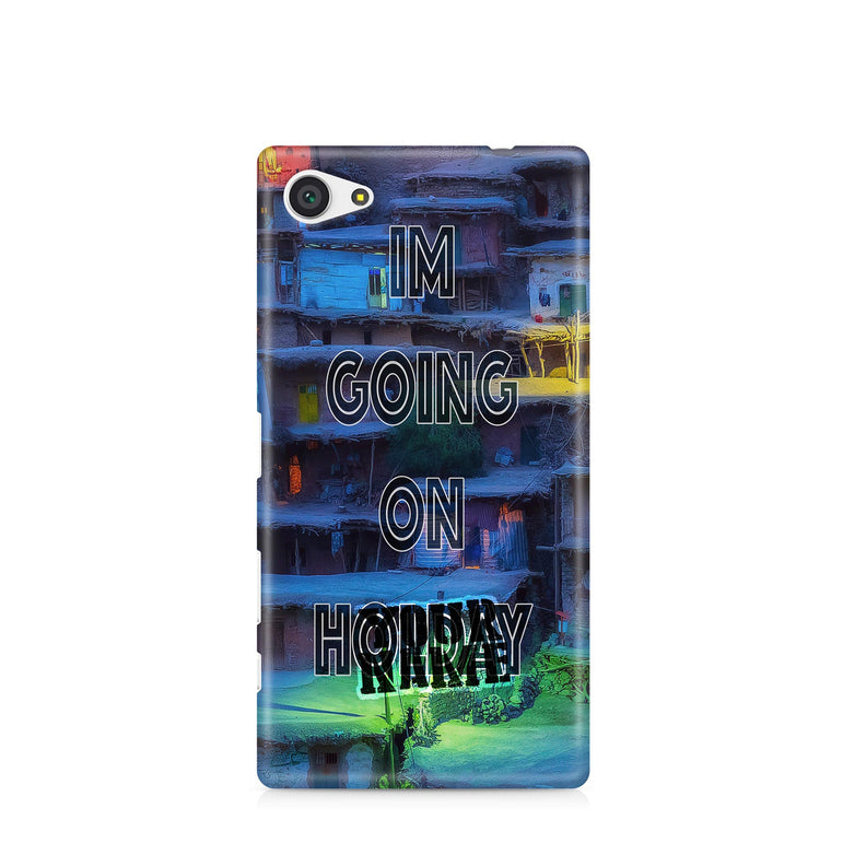 I am Going on Holiday Summertime Winter Gorgeous Photo Initials Phone Case