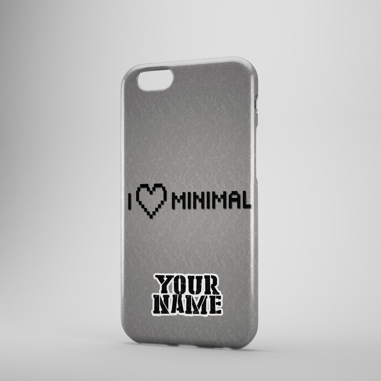 I Love Minimal For Phone Cases Cover Fits Samsung Iphone Phonecases