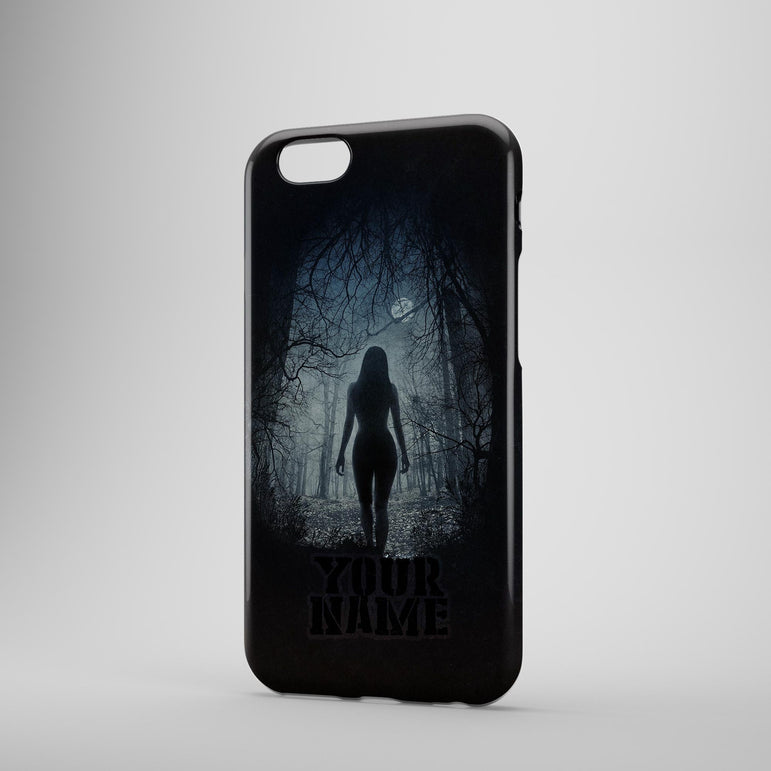 Aliens Darkest Scary Forest Cant See Face Phone Case Cover