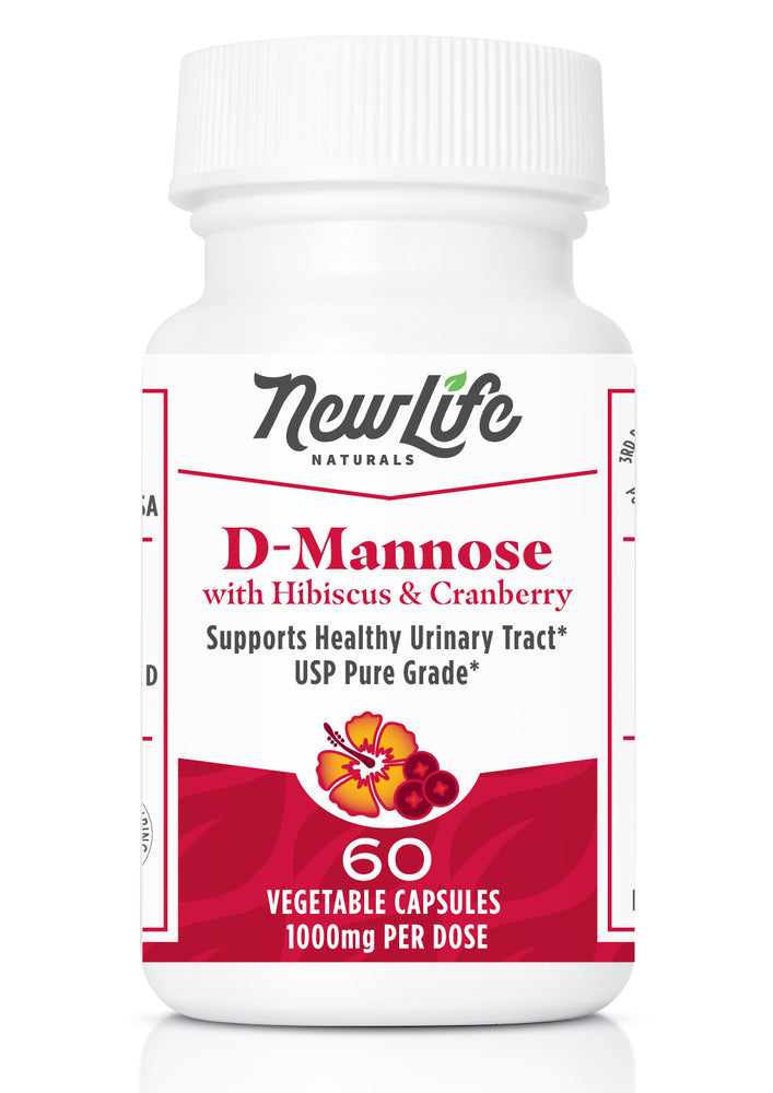 D-Mannose with Cranberry and Hibiscus Extract-Urinary Tract Health