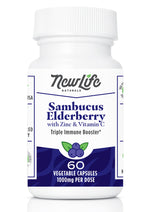 Sambucas Elderberry- with Zinc and Vitamin C for Immune Support