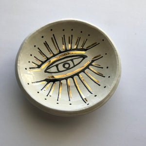 All Seeing Eye Ring Dish