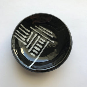 Black And White Ring Dish
