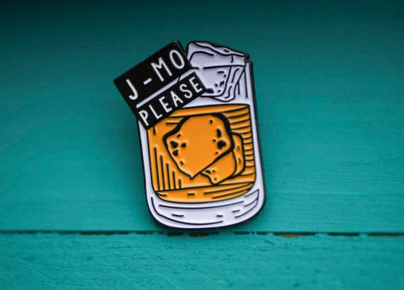 Jameson Please Enamel Pin