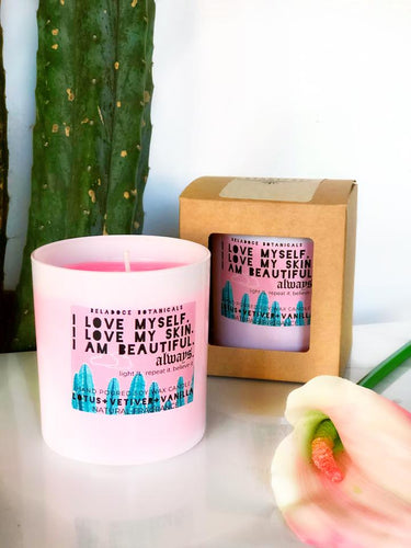 Beauty Affirmation Candle