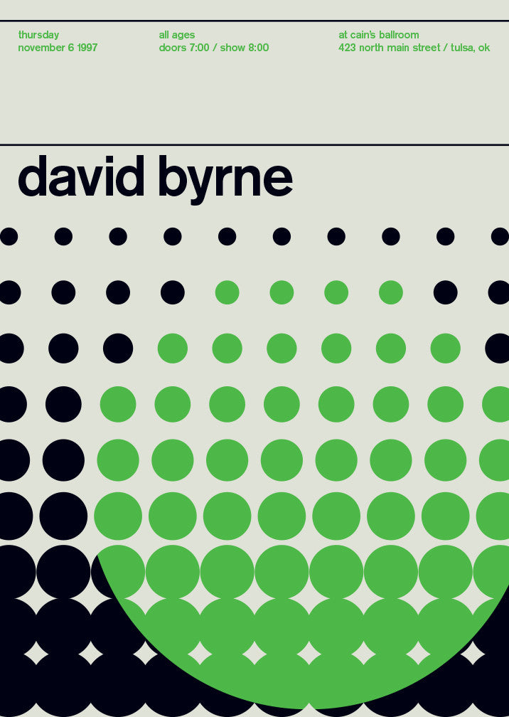 Legends Series: David Byrne, 1997