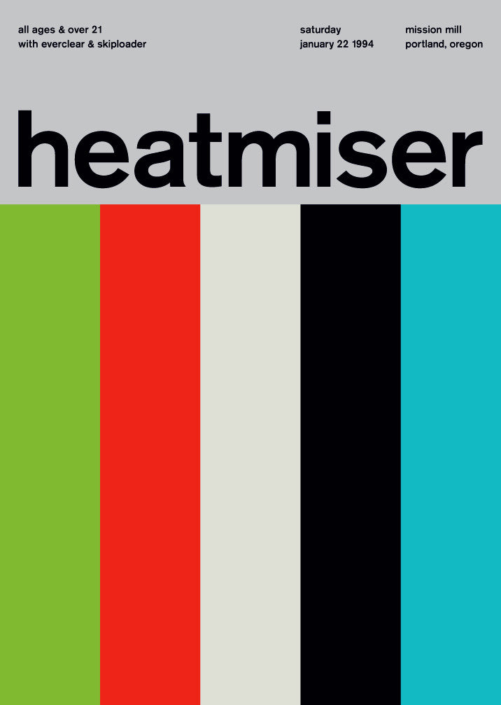 heatmiser at mission mill, 1994