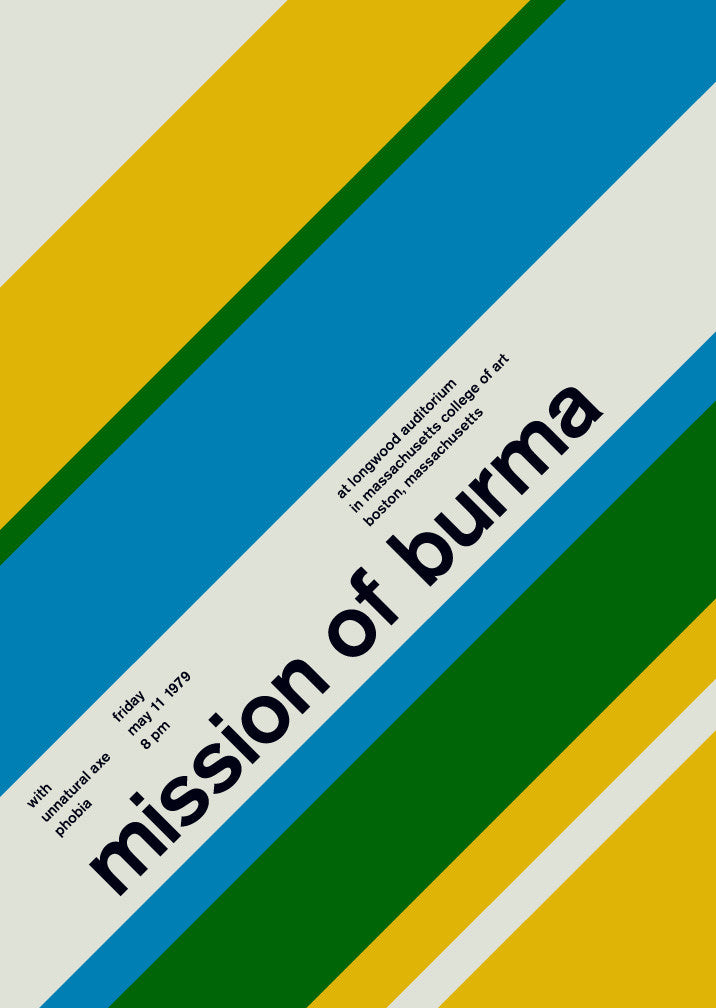 mission of burma at longwood, 1979