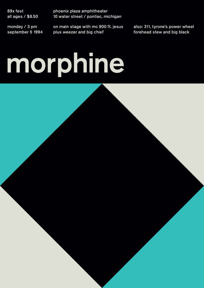 morphine at phoenix plaza, 1994