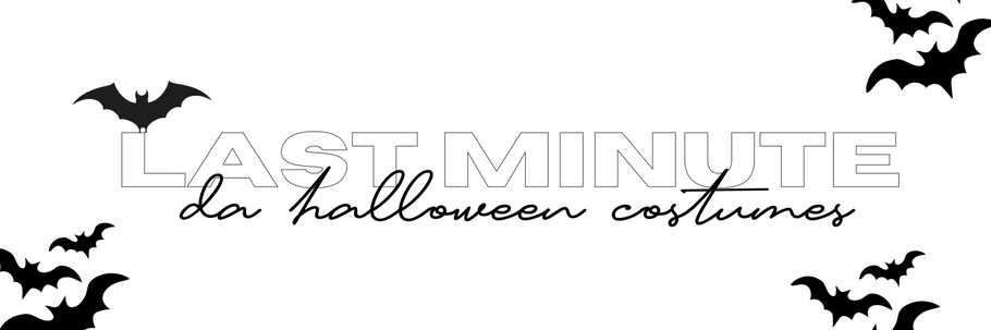 5 Last Minute Halloween Costume Ideas