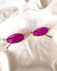 No Scrubs Sunglasses - Purple