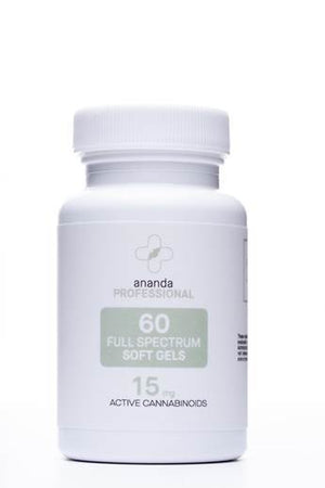 Ananda Professional Full Spectrum 60mg Softgels