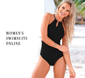Now you can buy women's swimsuits online