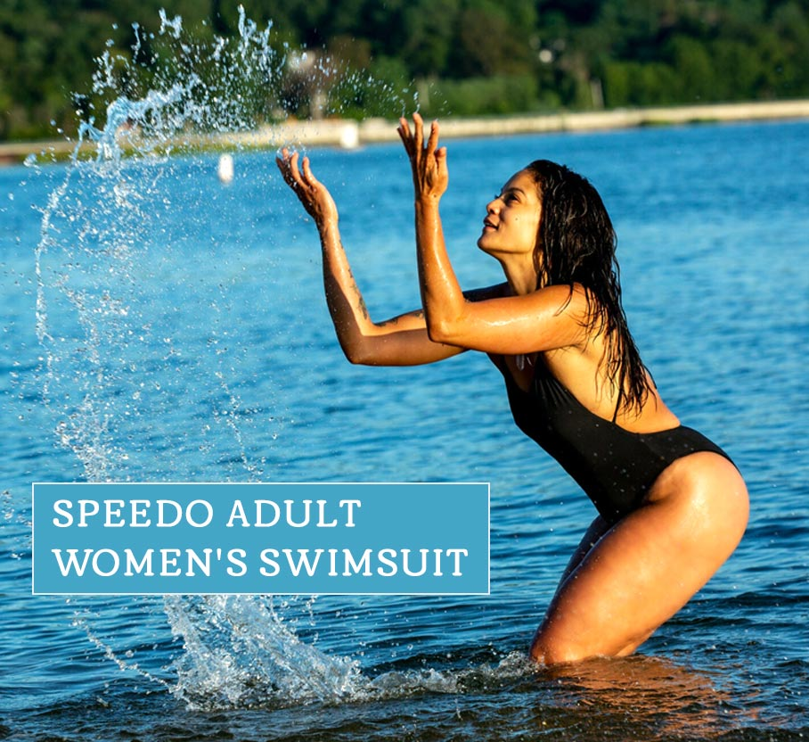 Speedo adult women's swimsuit sizing guide