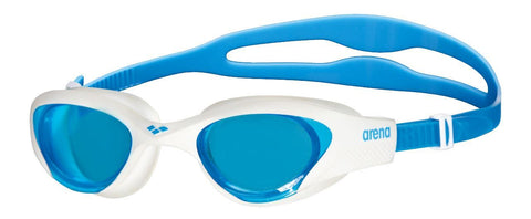 Arena Adult Training Goggles The One Light Blue/White/Blue - clickswim.co.nz