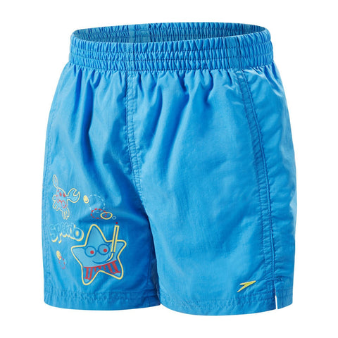 "Speedo Infant Boys Watershorts Sea Squad 11"" Watershort Blue / Red - clickswim.co.nz"