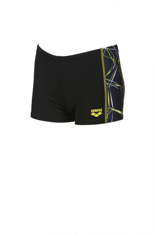 Arena Original Touch Boys Water Short Black/Black - clickswim.co.nz