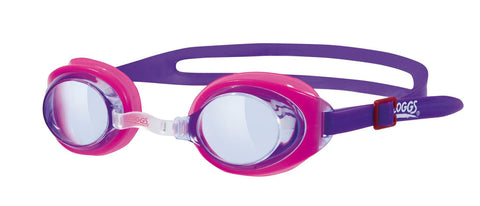 Zoggs Little Ripper Swimming Goggles Kids Purple - clickswim.co.nz