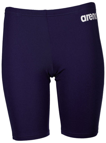 Arena True Sport Boys  Solid Jammer Navy/White - clickswim.co.nz