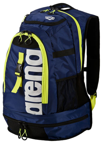 Arena Swim Fast Bags Fastpack 2.1 Royal/Fluo Yellow - clickswim.co.nz