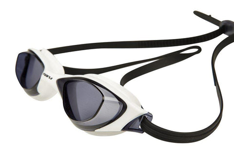 Maru Sonar Antifog Adult Goggles Smoke/White - clickswim.co.nz