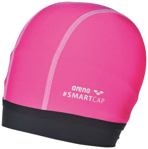 Arena Smart Cap Smartcap Junior  Fluo Pink - clickswim.co.nz