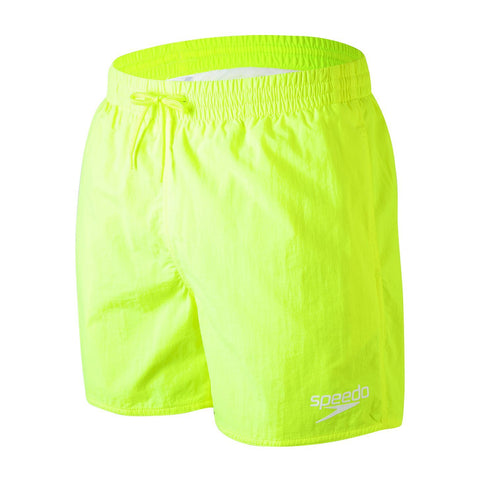 "Speedo Essentials 16"" Watershort Mens Fluo Yellow"