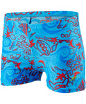 Speedo Infant Boys Swimwear Seasquad Allover Aquashort Blue / Red - clickswim.co.nz