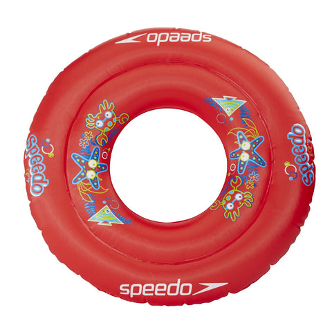 Speedo Infant Unisex Equipment Sea Squad Swim Ring Red - clickswim.co.nz