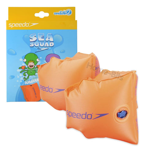 Speedo Armbands Orange 0-12yrs - clickswim.co.nz