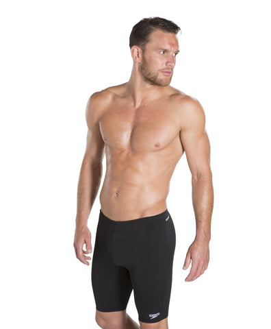 Speedo Endurance+ Mens Jammer Black - clickswim.co.nz