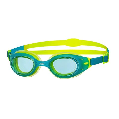 Sonic Air Junior Junior Goggles Green/Lime/Clear - clickswim.co.nz