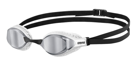 Arena Air-Speed Mirror Adult Goggles Silver White
