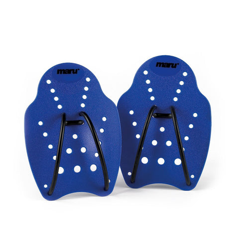 Maru Hand Paddle Small Blue - clickswim.co.nz