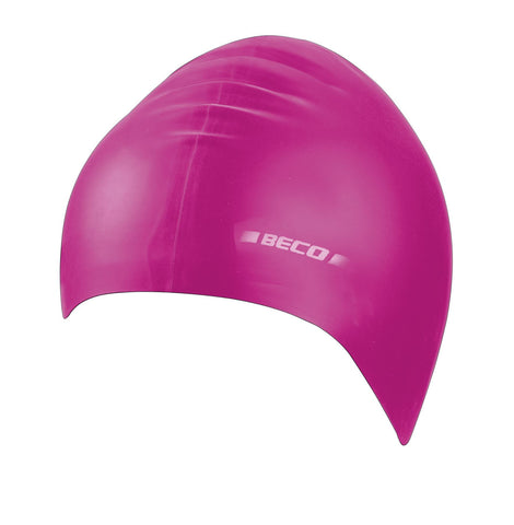 Beco Adult Silicone Solid Cap  Pink - clickswim.co.nz