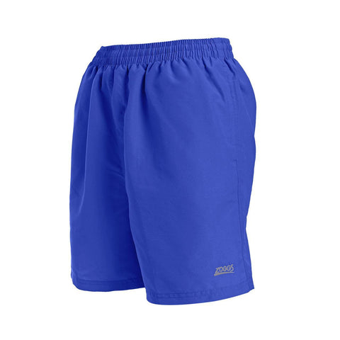 "Penrith  17"" Short   Durafeel Mens Speed Blue - clickswim.co.nz"