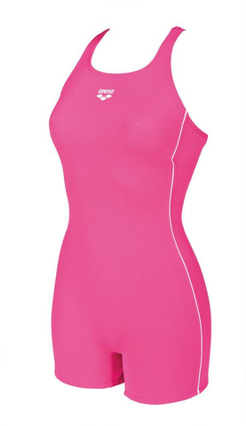 Arena Original Touch Womens Swimsuit High Fresia Rose/Silver - Clickswim.com