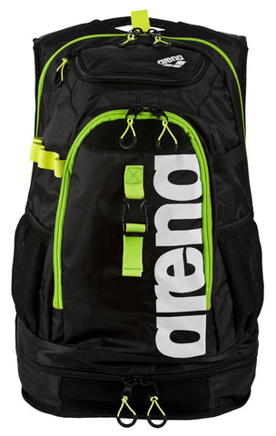 Arena Swim Fast Bags Fastpack 2.1 Dark Grey/Acid Lime/White - clickswim.co.nz
