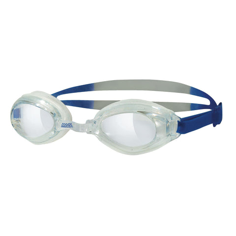 Endura Adult Goggles Clear/Blue/Silver - clickswim.co.nz